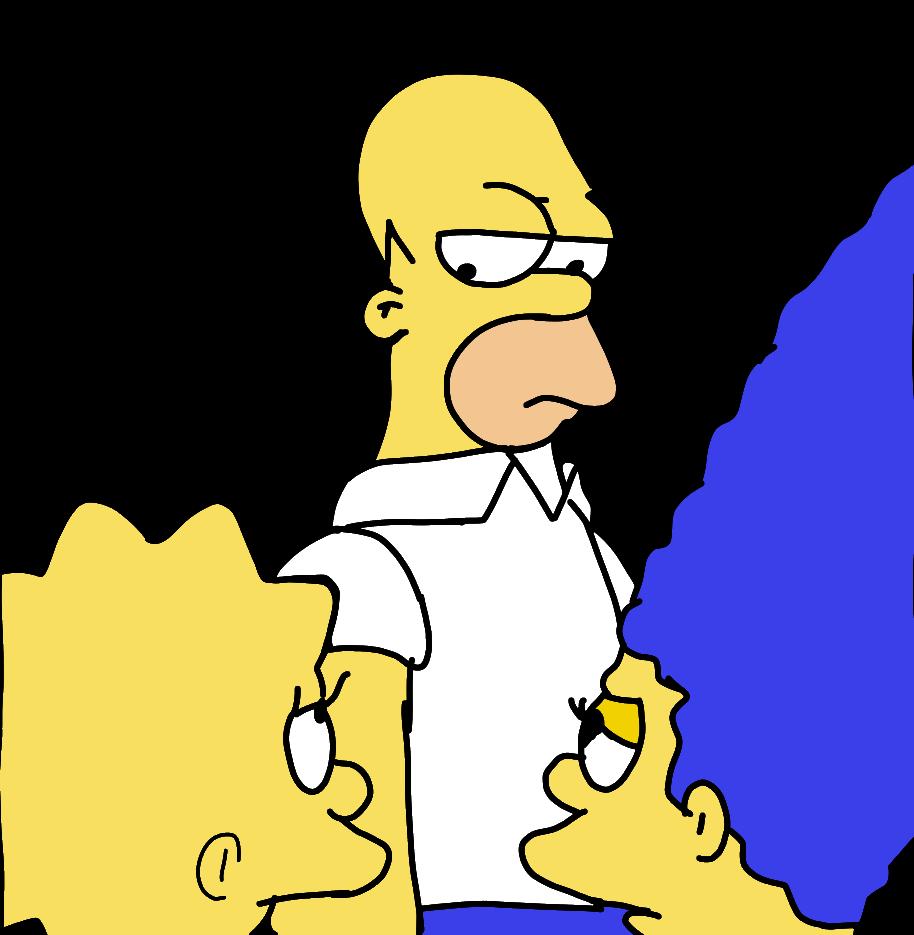 Plantilla Homero haciendo Drama