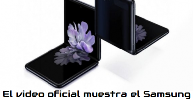 Video muestra el Samsung Galaxy Z Flip con pantalla plegable