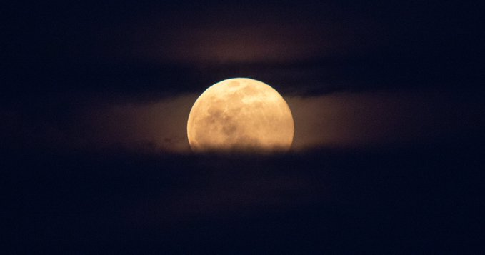 Fotos de la superluna de hoy