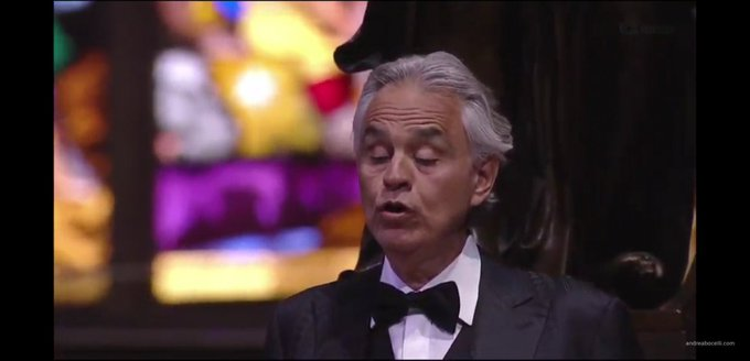 Concierto de Andrea Bocelli en Youtube Music For Hope – Live From Duomo di Milano