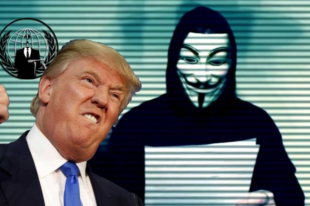 Se filtra Pack de Fotos de Donald Trump por Anonymous en Twitter