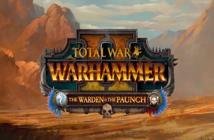 'War total: Warhammer 2' Logotipo oficial de The Warden and the Paunch
