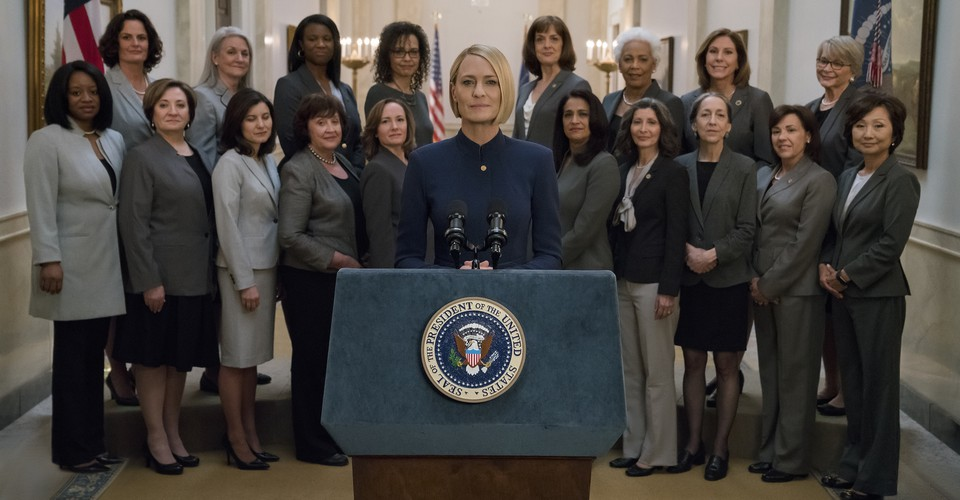 Final de la temporada 6 de House of Cards: A Cynical Whimper - The Atlantic