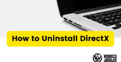 Cómo desinstalar DirectX 11 (método más fácil)