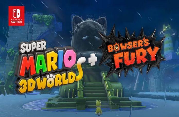 Super Mario 3D World + logotipo oficial de Bowser's Fury