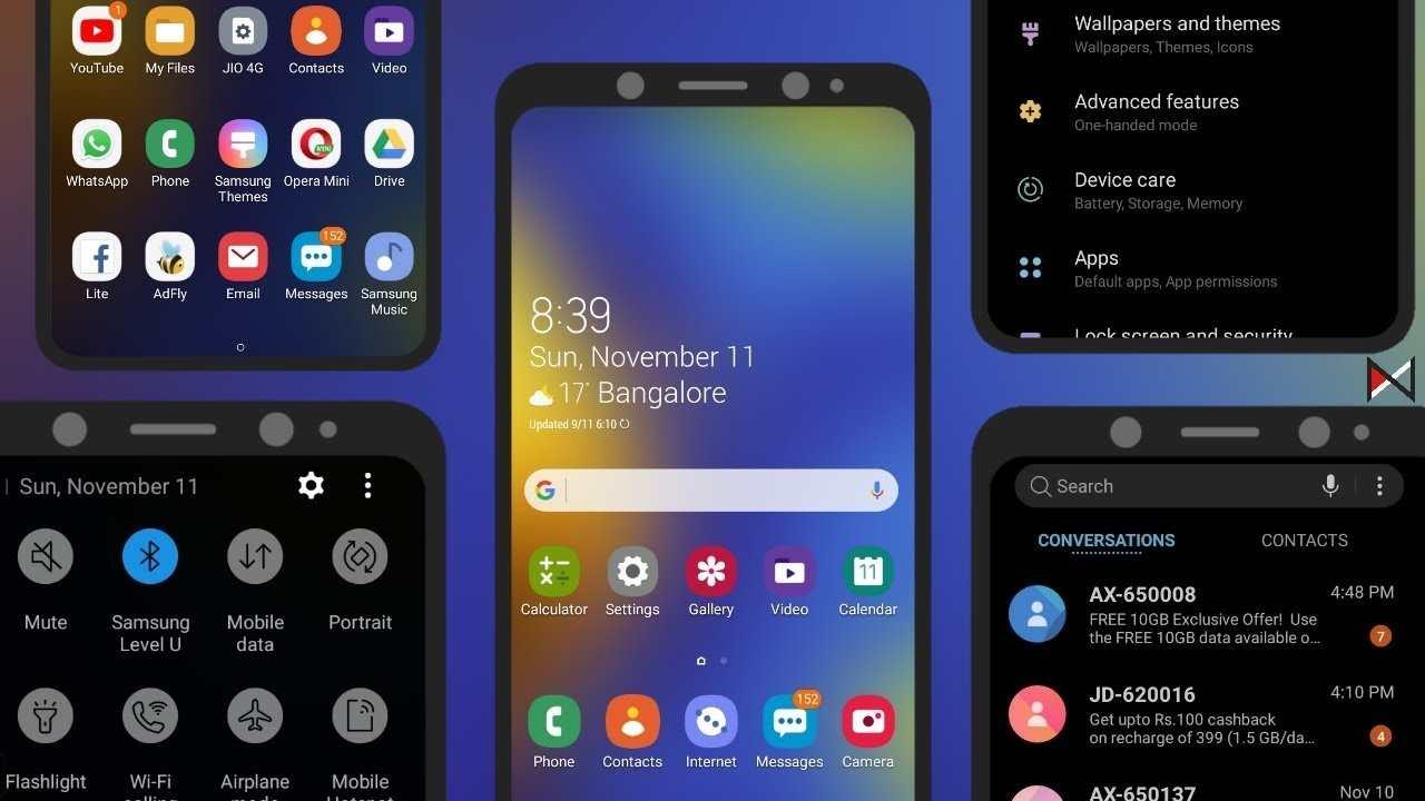 Descargue las aplicaciones Samsung One UI 3.0 en cualquier ...