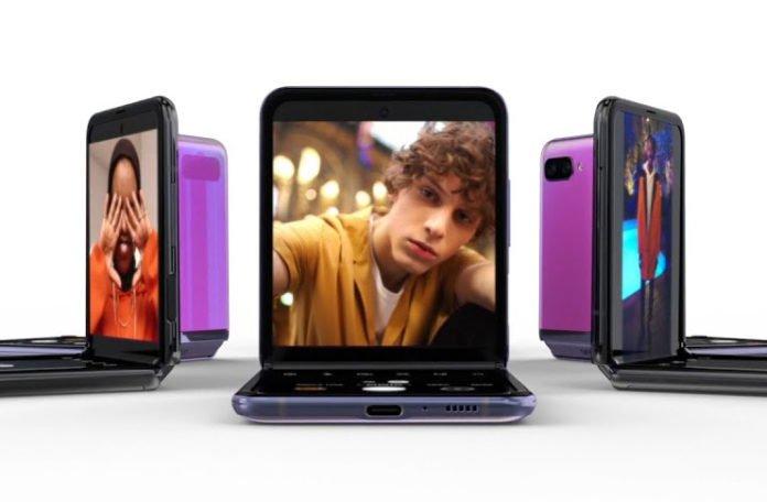 Un teléfono inteligente con pantalla enrollable Samsung está en proceso