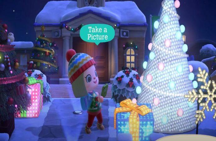 Actualización de invierno de Animal Crossing: New Horizons