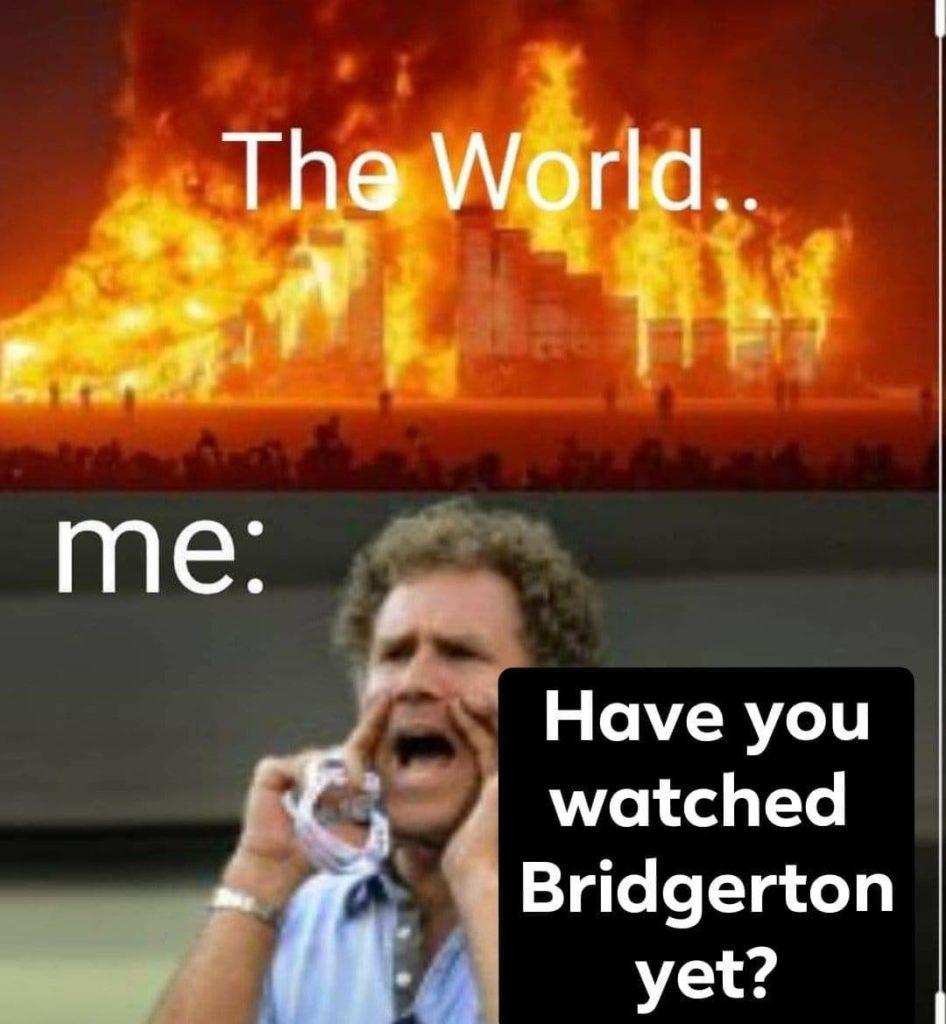 Bridgerton, Netflix, reacciones, memes