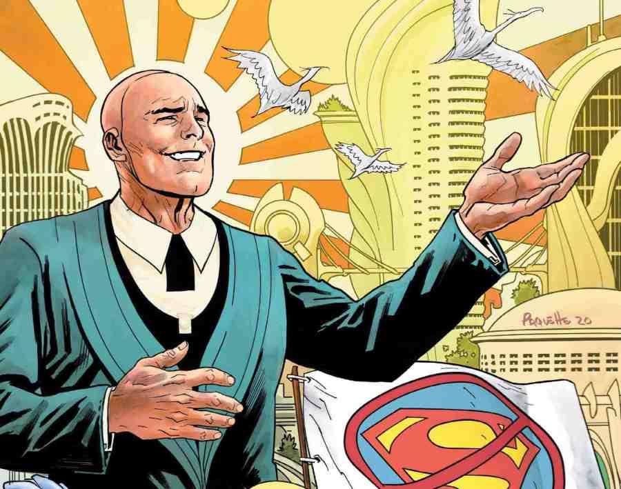 Estado futuro: Superman Vs Imperious Lex # 1