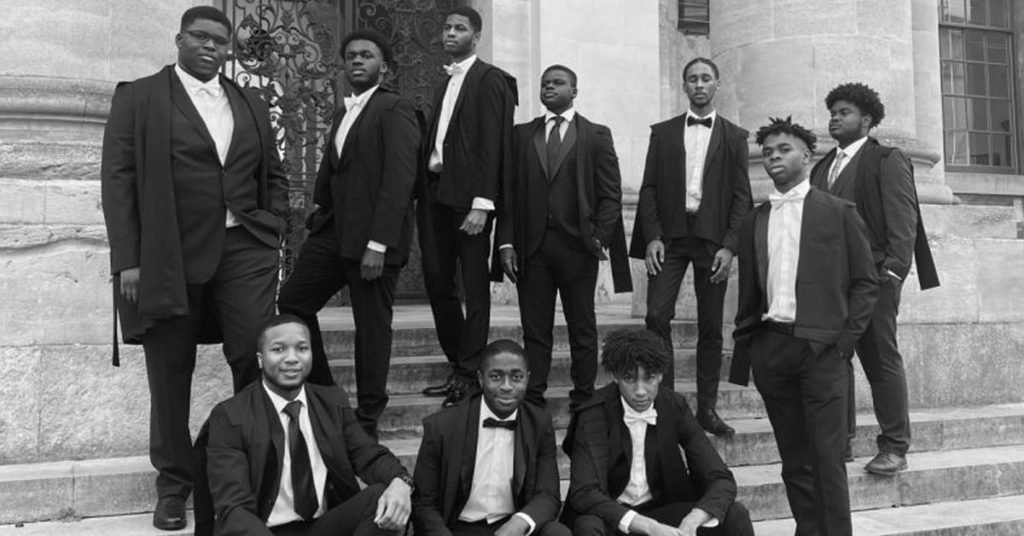 Black Oxford Students Bullingdon Club