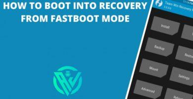 Cómo iniciar la recuperación desde el modo Fastboot (para TWRP / Stock)