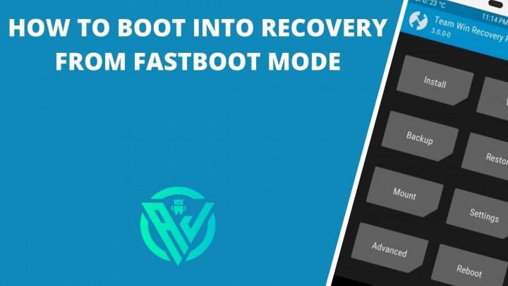 Arrancar en Recovery desde Fastboot Mode