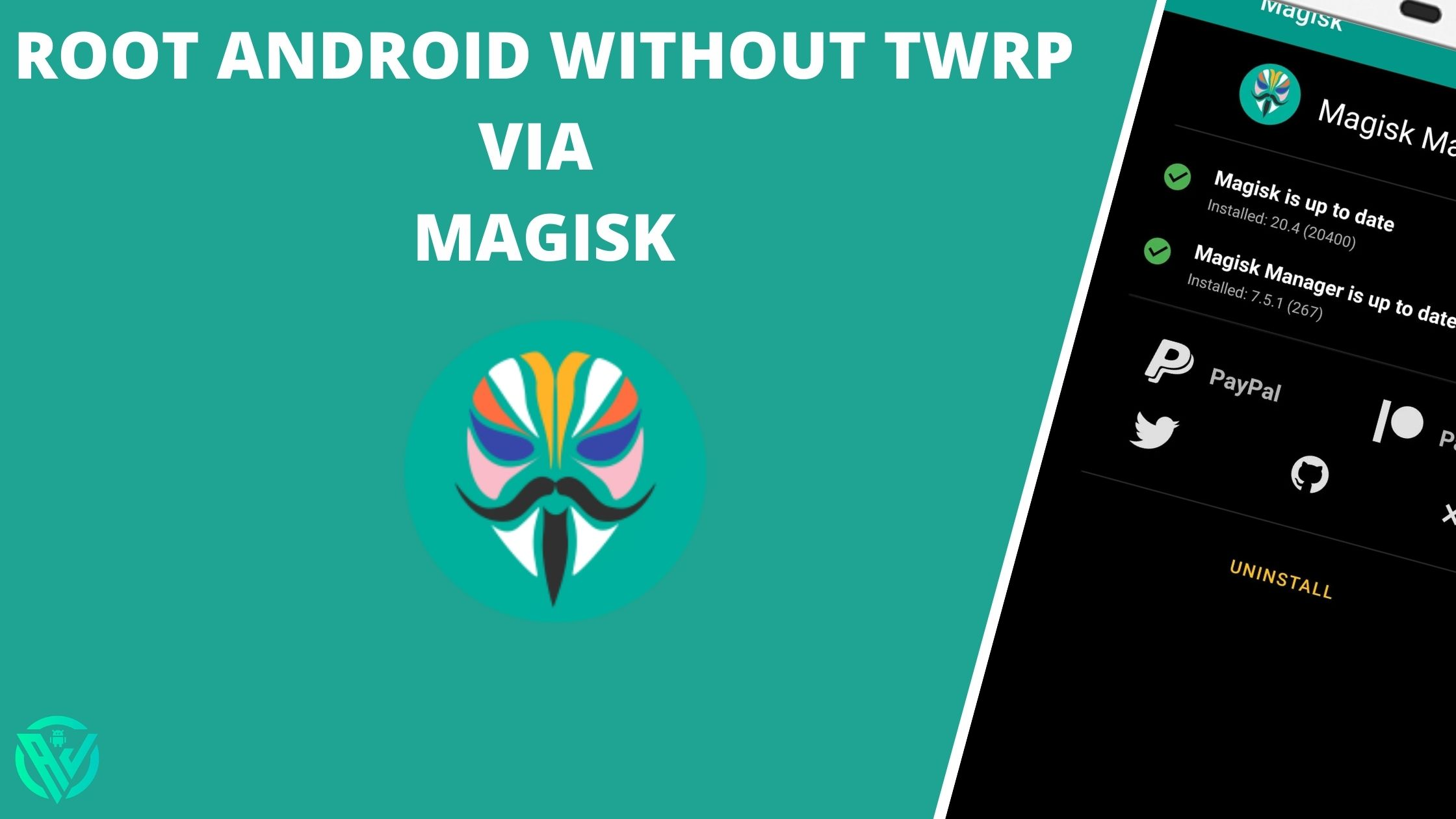 root android sin twrp