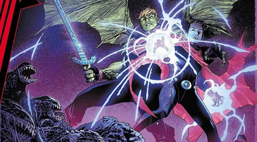 King in Black: Wiccan and Hulkling # 1