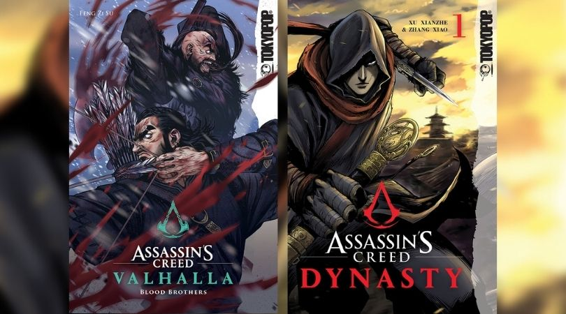 Assassin's Creed Dynasty y Valhalla: Blood Brothers Manhua