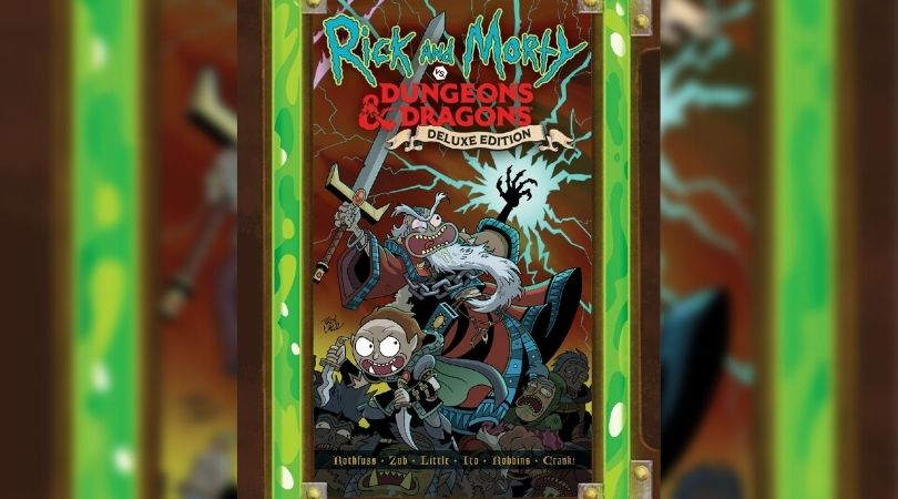 Rick y Morty vs Dungeons and Dragons