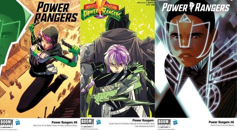 Power Rangers # 6