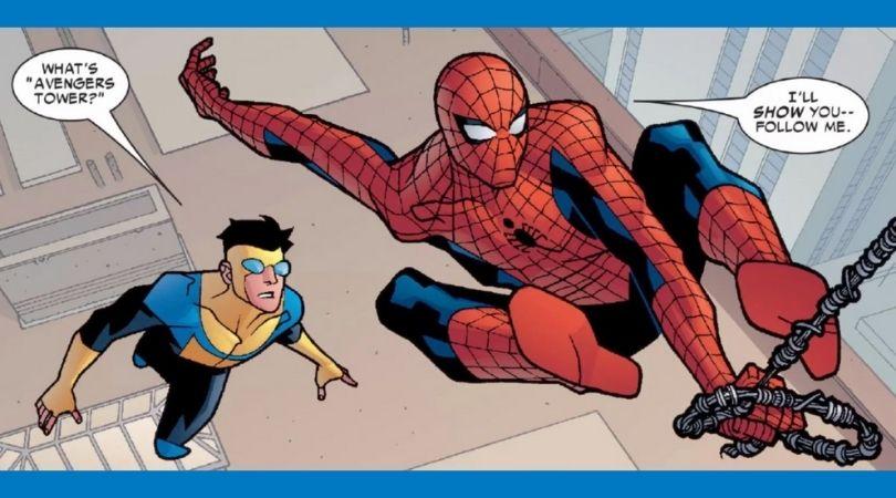 Spider-Man Meets Invincible